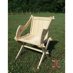 Glastonbury chair, oaken.